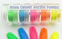 Colou acrylic powder - Neon Set