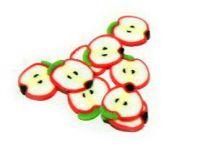 FIMO tyčinka - Ovocie jablko polka