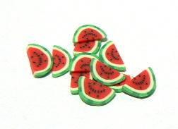 FIMO tyčinka - Ovocie melón mesiačik