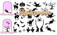Nail Tattoos - Halloween MIX - 83