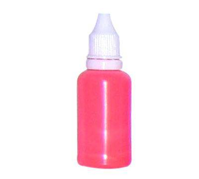 Airbrush Nail Color - Fluorescent Scarlet