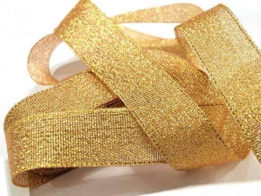 Stužka LUREX Mini zlatá