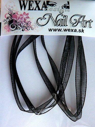 Stužka SLIM Soft - čierna