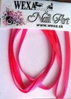Stužka SLIM - krikľavo ružová