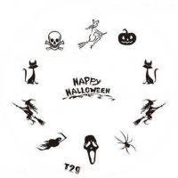 Tribal Stamping Nail Art platnička - T29 Halloween