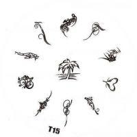 Tribal Stamping Nail Art platnička - T15