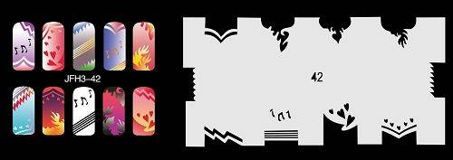 Šablónka nelepiaca - GP42