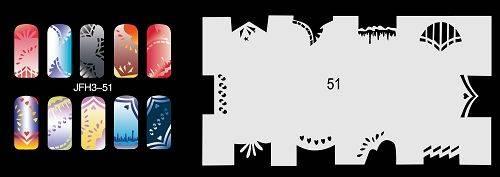 Šablónka nelepiaca - GP51