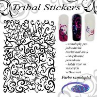 Tribal Stickers - Diamond Purple