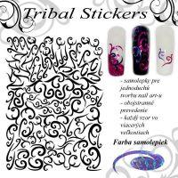 Tribal Stickers - Diamond Purple