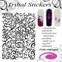 Tribal Stickers - Diamond Pink