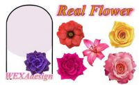 Nail Tattoos - Real Flower - 99