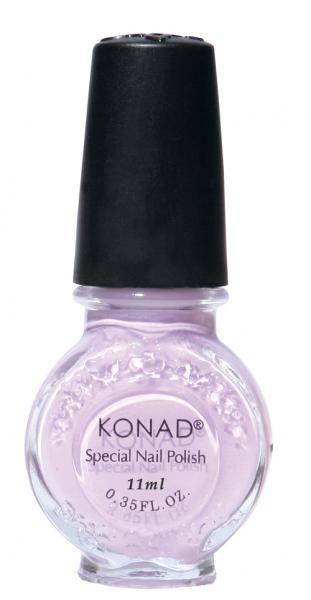 Lak na Stamping Nail Art - Pastel fialový - 12