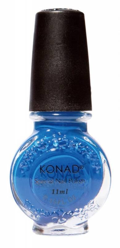 Lak na Stamping Nail Art - Modrý - 21