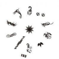 Tribal Stamping Nail Art platnička - T03