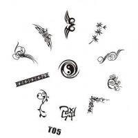 Tribal Stamping Nail Art platnička - T05