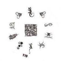Tribal Stamping Nail Art platnička - T19