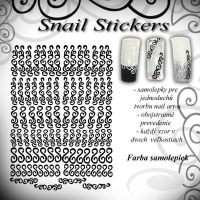 Snail Stickers - Silver