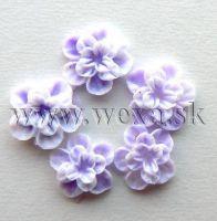 Silikónové kvietky - 7. kvietok purple