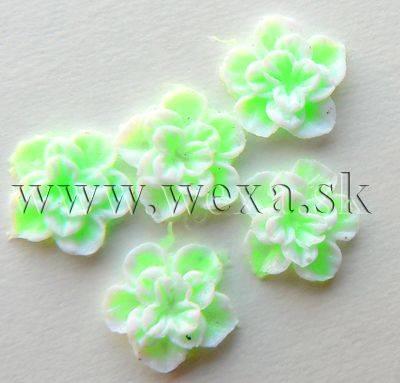 Silikónové kvietky - 10. kvietok neon green