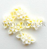 Silikónové kvietky - 1. kytička yellow