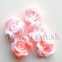 Silikónové kvietky - 4. ružička neon orange