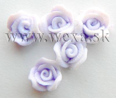 Silikónové kvietky - 7. ružička purple