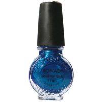 KONAD lak na Stamping Nail Art - Deep Blue - 8