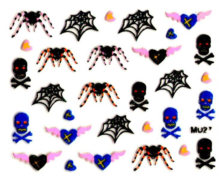Halloween - Pavúky MU27