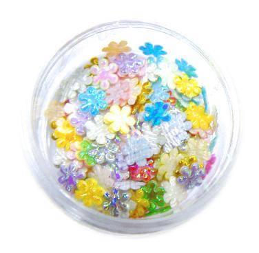 Konfety kvetinky fabrik MIX