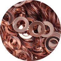 Konfety flitre obrúčky - 14. Metal Mocca