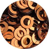 Konfety flitre obrúčky - 17. Metal Karamel