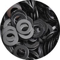 Konfety flitre obrúčky - 24. Metal Black