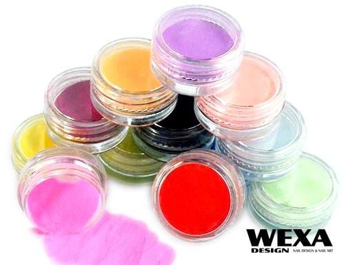 Farebné akrylové prášky od výmyslu sveta